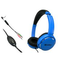 Sandberg headset: Home'n Street Headset Blue - Blauw
