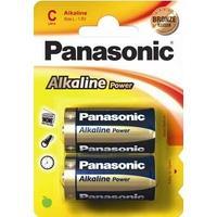 Panasonic batterij: 1x2 LR14APB - Blauw, Goud