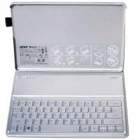 Acer mobile device keyboard: Silver Spanish Keyboard, Windows 8 + Case - Zilver