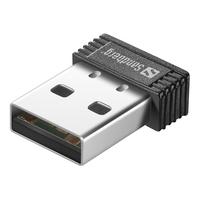 Sandberg Micro WiFi USB Dongle Netwerkkaart - Zwart