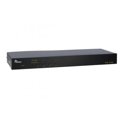 Inter-Tech KVM KS-3104 KVM switch - Zwart