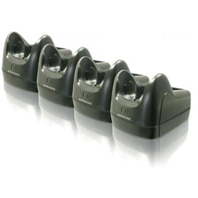 Datalogic telefoon steun: Four Slot Ethernet Dock - Zwart, Grijs