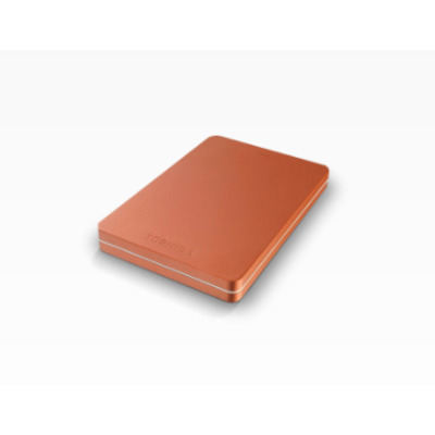 Toshiba Canvio Alu 1 TB Externe harde schijf - Rood