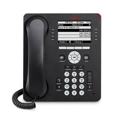 Avaya 9608 IP telefoon - Zwart - Refurbished B-Grade