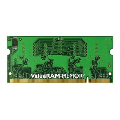 Kingston Technology RAM-geheugen: ValueRAM 1GB 667MHz DDR2 Non-ECC CL5 SODIMM