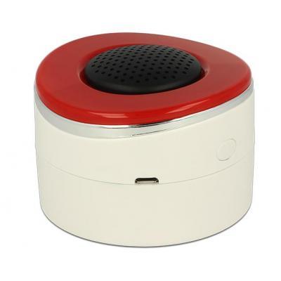 Delock sirene: Z-Wave Siren 100 dB - Rood, Wit