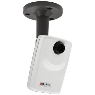 "Acti beveiligingscamera: 3MP, 1080p, 30 fps, 1/3.2"" CMOS, 1/5 - 1/2000 s, Fast Ethernet, PoE, 3.7 W, 140 g - Wit"