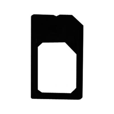 Azuri Micro-SIM - SIM SIM/flash memory card adapter - Zwart