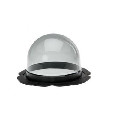 Pelco SRX Enh+ Env Smoke Lower Dome, Outdoor Beveiligingscamera bevestiging & behuizing - Grijs, Transparant