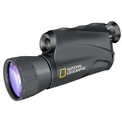 National geographic verrekijker: 5x50 Digital Night Vision Device - Zwart