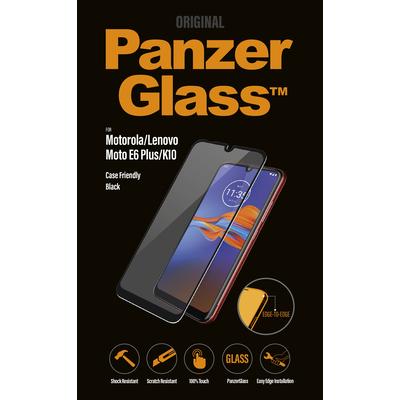 PanzerGlass Motorola Moto E6+/Lenovo K10 Edge-to-Edge Screen protector - Transparant