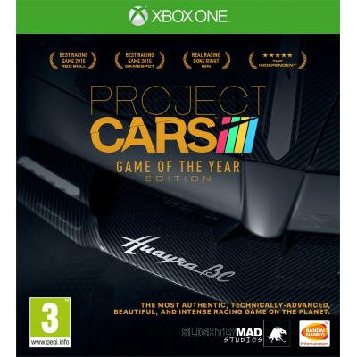 Namco bandai games game: Project Cars (GOTY Edition)  Xbox One