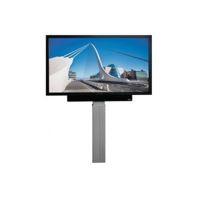 "Legamaster TV standaard: Column system electrical height adjustable XL, f / e-Screen 46-84"" - Grijs"