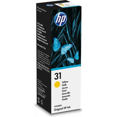 HP 31 70-ml Yellow Original Ink Bottle - Geel