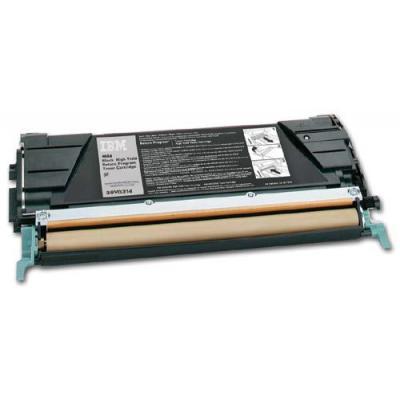 Ibm 8000pages High Yield black toner - Zwart