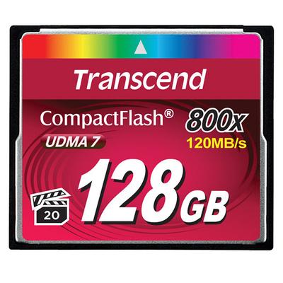 Transcend TS128GCF800 flashgeheugens