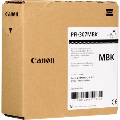 Canon PFI-307MBK Inktcartridge - Zwart