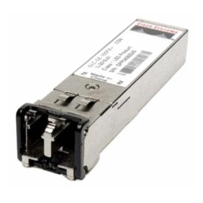 Cisco netwerk tranceiver module: SFP, GE/1G-FC/2G-FC/HDTV, 1310nm, SM, LC network transceiver module, Refurbished