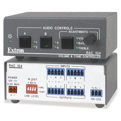 Extron RAC 104 Volumeregelaar