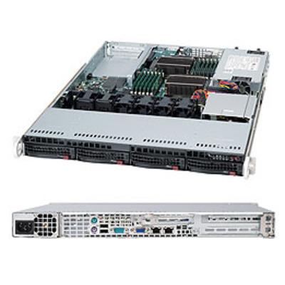 Supermicro server barebone: SuperServer 6016T-NTF