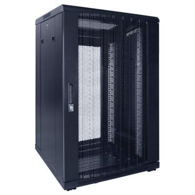 DS-IT 18U serverkast met geperforeerde deur 600x600x1000mm (BxDxH) Stellingen/racks