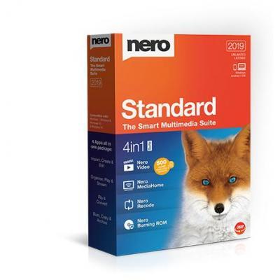Nero videosoftware: Standard 2019