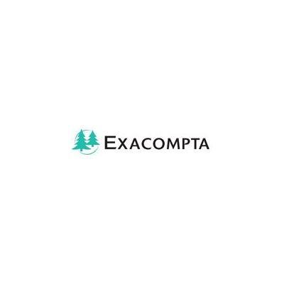 Exacompta , Iderama, ordner, ft A4, rug van 7 cm, anijsgr oen Map - Groen