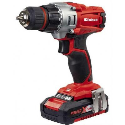 Einhell TE-CD 18/2 Li power drill - Zwart, Grijs, Rood