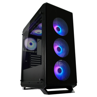 LC-Power Gaming 801B - Sera_X Behuizing - Zwart