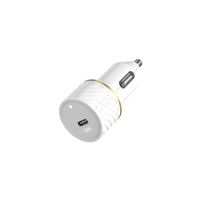 OtterBox Car Charger 18W – USB C 18W USB-PD, Cloud Dust White Oplader - Wit