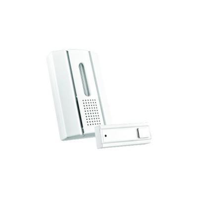 Klikaanklikuit deurbel: ACDB-7000AC Draadloze deurbel met draadloze drukknop - Wit