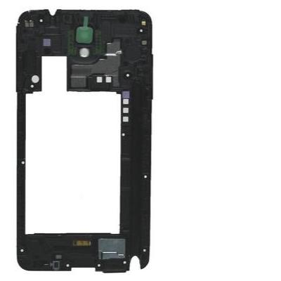 Samsung mobile phone spare part: SM-N9005 Galaxy Note 3, Middle Cover + Antenna, black)