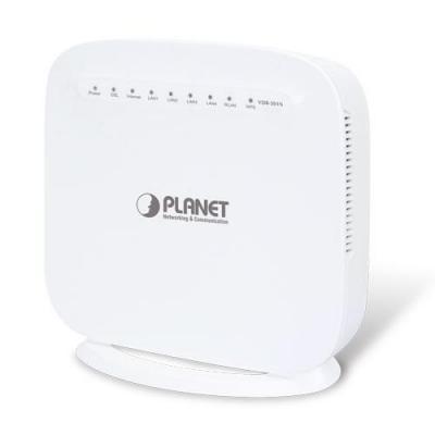 Planet 802.11n Wireless VDSL2 Bridge/Router, 2.4GHz, 6W, 12V DC, 0.5A, 238g, White