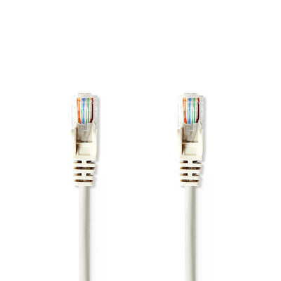 Nedis Cat 5e UTP Network Cable, RJ45 Male - RJ45 Male, 2 m, Grey Netwerkkabel - Grijs