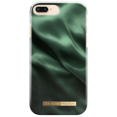 IDeal of Sweden Fashion Backcover iPhone 8 Plus / 7 Plus / 6(s) Plus - Emerald Satin Mobile phone case