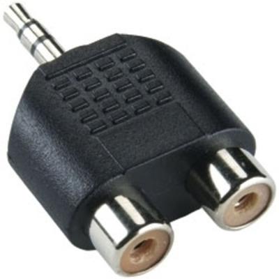 Bandridge BAP432 Kabel adapter - Zwart