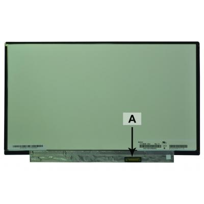 2-power notebook reserve-onderdeel: 13.3 1366x768 WXGA LED Matte Screen - replaces N133BGE-EAA - Zwart
