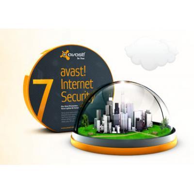 AVAST Software avast! Internet Security 5-Desktop 1 year Aanvullende garantie