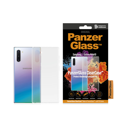 PanzerGlass Samsung Galaxy Note10 Clear Frame Mobile phone case - Transparant