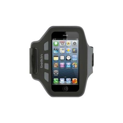 Belkin houder: Armband voor IPhone 5 -Zwart en grijs - Zwart, Grijs