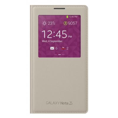 Samsung mobile phone case: S View - Beige