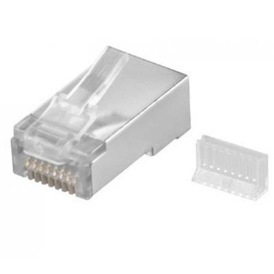 Goobay CAT 5 RJ45/8P8C Kabel connector - Zilver