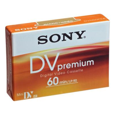 Sony AV casette: MiniDV Premium Tape - 60 min