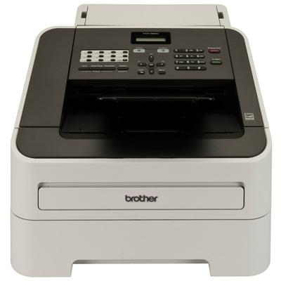 Brother FAX-2840 Laserfax 20 ppm - papiercassette 250 vel - 33.600 bps Faxmachine - Zwart,Grijs