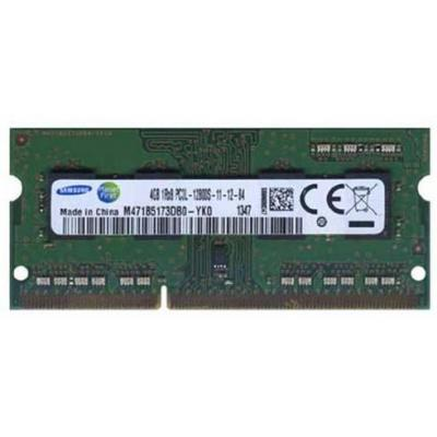 Samsung RAM-geheugen: 4GB DDR3 SO-DIMM