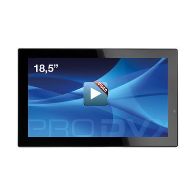 "ProDVX SD-18 18"" Integrated Video Display 18.5"" 1366 x 768 Paal display - Zwart"