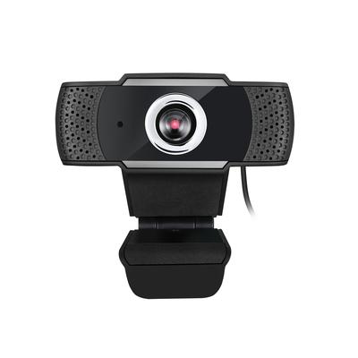 Adesso CyberTrack H4 Webcam - Zwart,Zilver
