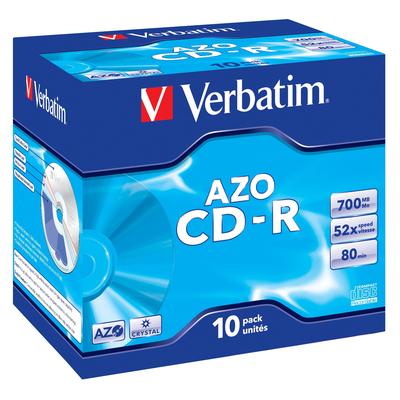 Verbatim CD: CD-R AZO Crystal