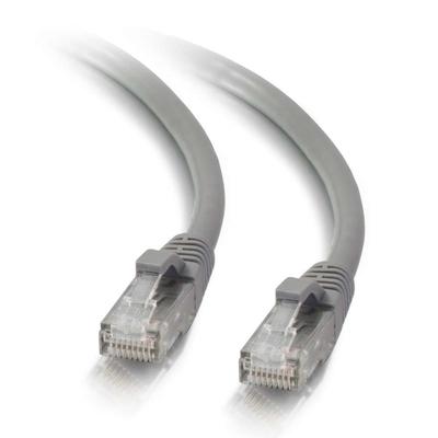 C2G 1,5m Cat5e Booted Unshielded (UTP) netwerkpatchkabel - grijs Netwerkkabel