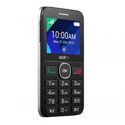 Alcatel mobiele telefoon: 20.08G - Zwart, Zilver